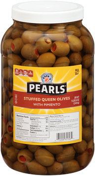 Pearls® Stuffed Queen Olives with Pimiento 86 oz. Jar