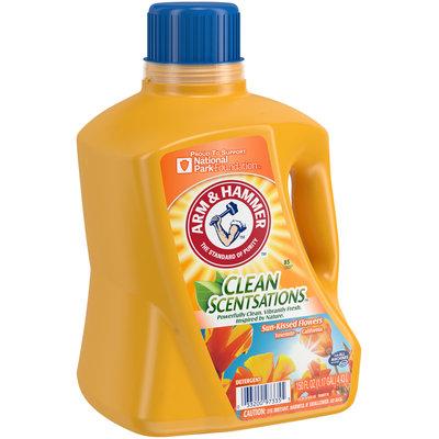 Arm & Hammer™ Clean Scentsations™ Sun-Kissed Flowers Laundry Detergent 150 fl. oz. Jug