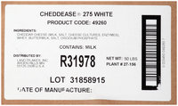 Land O' Lakes Cheddease 275 White Powder