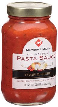 Member's Mark All Natural Four Cheese Pasta Sauce 26.5 Oz Jar