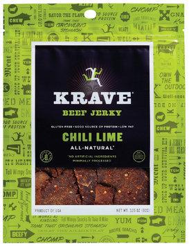 Krave® Chili Lime Beef Jerky 3.25 oz. Bag