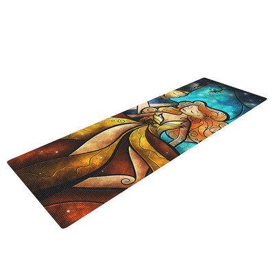 Kess Inhouse Nutcracker by Mandie Manzano Yoga Mat