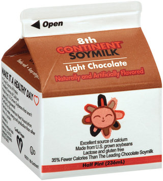 8th Continent® Light Chocolate Soymilk