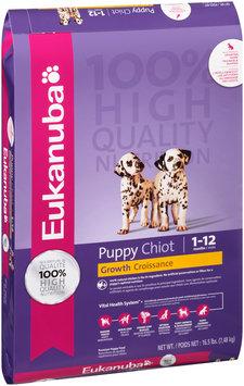 Eukanuba® Puppy Growth Dog Food 16.5 lb. Bag