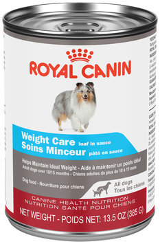 Royal Canin Weight Care Loaf in Sauce Dog Food 13.5 oz. Pull-Top Can