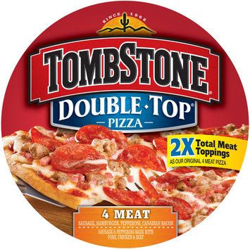 tombstone double top 4 meat pizza