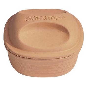 Reston Lloyd RomertopfA Natural Earthenware 2-Quart 9-Inch Square Casserole Roaster