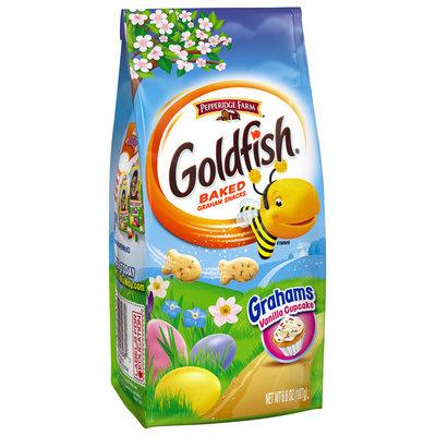 Pepperidge Farm® Goldfish® Vanilla Cupcake Baked Graham Snacks 6.6 oz. Package