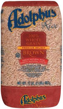 Adolphus 100% Whole Grain Brown Rice 2 Lb Bag