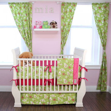 My Blankee Butterfly 6 Piece Crib Bedding Set
