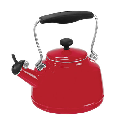 Chantal Vintage Red Enamel Teakettle