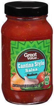 Great Value™ Cantina Style Medium Salsa