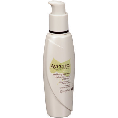 Aveeno® Active Naturals® Positively Ageless™ Daily Exfoliating Cleanser 5 fl. oz. Pump