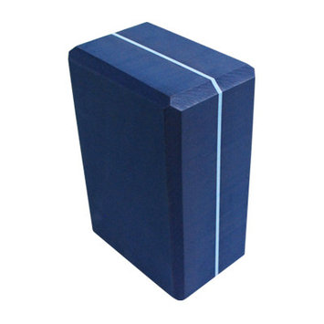 Yoga Direct Llc Yoga Direct Striped Foam Yoga Block