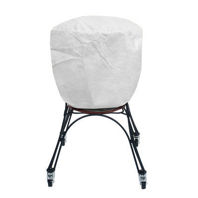 KoverRoos 53061 SupraRoos X-Large Smoker Cover White - 24 Dia x 34 H in.