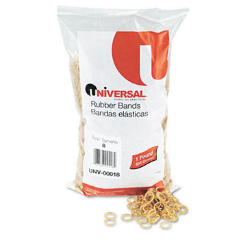 Universal Products Universal Office Products Rubber Bands Universal Boxed, Size 8