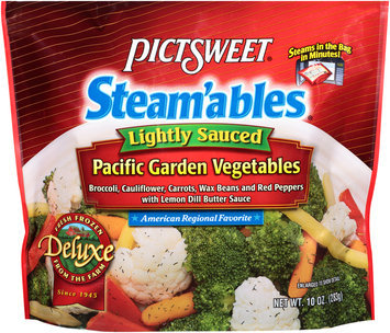 pictsweet® steam'ables® deluxe lightly sauced pacific garden vegetables
