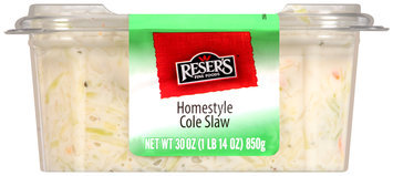 Reser's Fine Foods® Homestyle Cole Slaw 30 oz. Container
