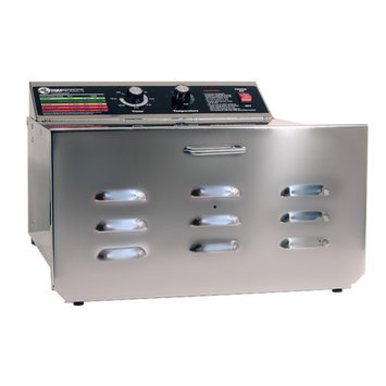 Tsm Products TSM 32603 5 Tray D5 Stainless Steel Dehydrator with Stainless Steel