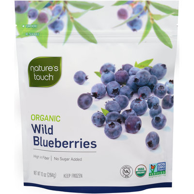 Nature's Touch™ Organic Wild Blueberries 10 oz. Stand-Up Bag