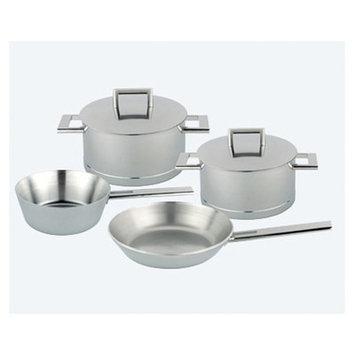 Demeyere John Pawson Stainless Steel 6 Piece Cookware Set