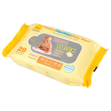 Cam Consumer Products, Inc. Piyo Piyo USA Baby Wipes Travel Pack 20 Count