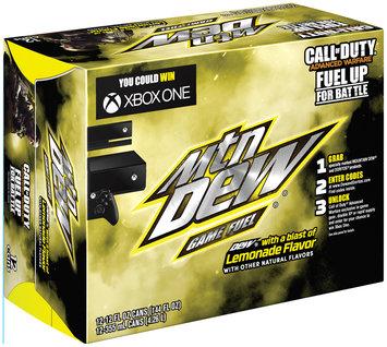 Mountain Dew® Game Fuel® Lemonade 12 Pack 12 fl. oz. Cans