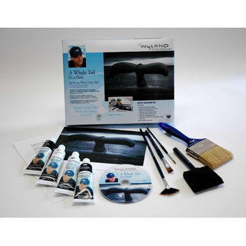 Weber Art Weber Wyland Great White Whale Tail Painting Kit