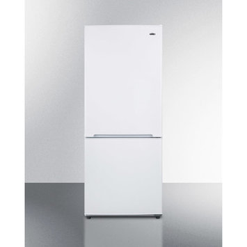 Summit Energy Star Qualified Frost-Free Bottom Freezer Refrigerator - White