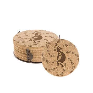 Thirstystone K003-HA50 Cork Gift Set - Koko Petroglyphs - HA50