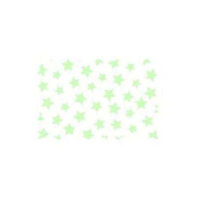Stwd Pastel Stars Woven Fabric by the Yard Color: Green
