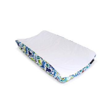 Ah Goo Baby Changing Pad Cover Pattern: Zoo Frenzy