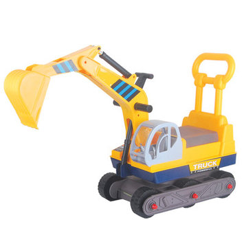 Merske Ride-on 6-wheel Excavator with Back
