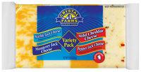 Crystal Farms® Variety Pack Cheese 16 oz. Brick