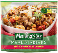 MorningStar Farms® Meal Starters® Sausage-Style Recipe Crumbles® Veggie Crumbles 12 oz. Bag
