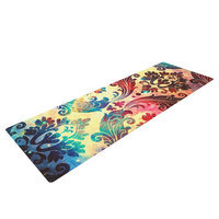Kess Inhouse Galaxy Tapestry by Caleb Troy Yoga Mat