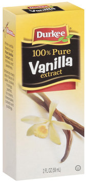 Durkee 100% Pure Vanilla Extract 2 Oz Box
