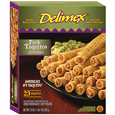 Delimex® Pork Taquitos 23 ct Box