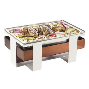 Cal-mil Luxe Chafer Finish: Copper