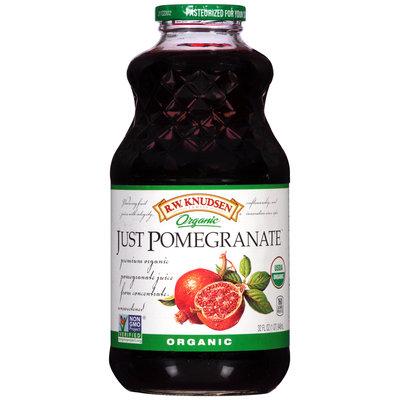R.W. Knudsen Family® Organic Just Pomegranate™ 100% Juice 32 fl. oz. Bottle
