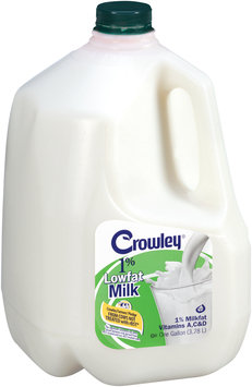 Crowley® 1% Lowfat Milk 1 gal. Jug