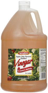Springfield Apple Cider Distilled Vinegar 128 Fl Oz Jug