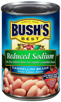 Bush's Best® Reduced Sodium Cannellini Beans White Kidney Beans 15.5 oz. Can