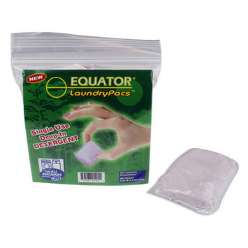 Equator LaundryPac Detergent Capacity: Regular 35