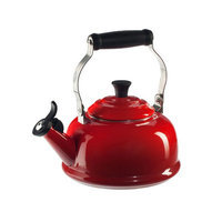 Le Creuset 1.8 QT Cherry Red Whistling Teakettle