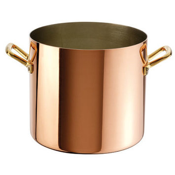 Paderno World Cuisine 15301-22 Stock Pot Copper Tin