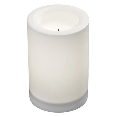 Northern International Inc GL29016WH 4 x 6 Solar Candle