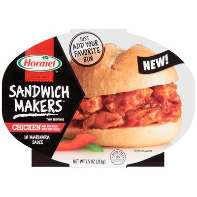 Hormel® Sandwich Makers® Chicken in Marinara Sauce 7.5 oz. Tray