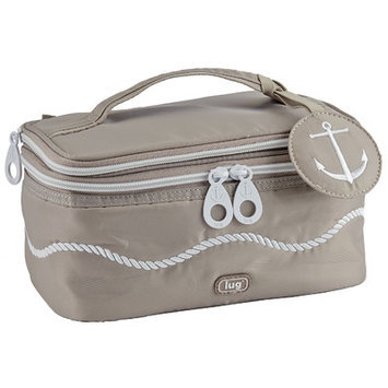 Lug Nautical Towboat Cosmetic Case Color: Sand Taupe
