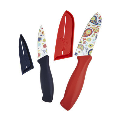 Fiesta 4 Piece Decal Knife Set Color: Scarlet
